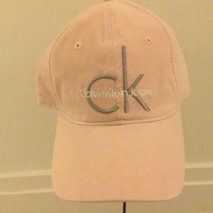 Calvin Klein Pink Logo Hat